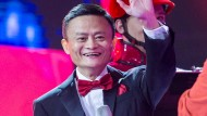 Heilsbringer? Alibaba-Chef Jack Ma feiert den Triumph des Online-Shopping-Festivals