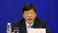 Ding Xuedong, ehemals Chef des chinesischen Staatsfonds, agierte zumindest glücklos.