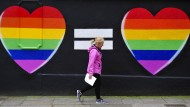 Die Gleichstellung der Homo-Ehe ist in Australien ein heißes Thema.