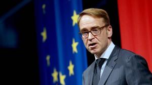 Bundesbank-Präsident Weidmann sieht Anzeichen für Deeskalation im Handelsstreit
