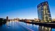 Die Zentrale der Europäischen Zentralbank in Frankfurt am Main