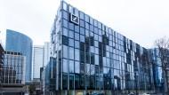 Sitz der DWS Fondsgesellschaft der Deutschen Bank in Frankfurt