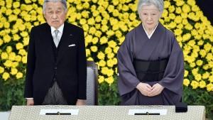Japans Kaiser darf im April 2019 abdanken