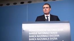 Schweizerische Nationalbank bleibt im Krisenmodus