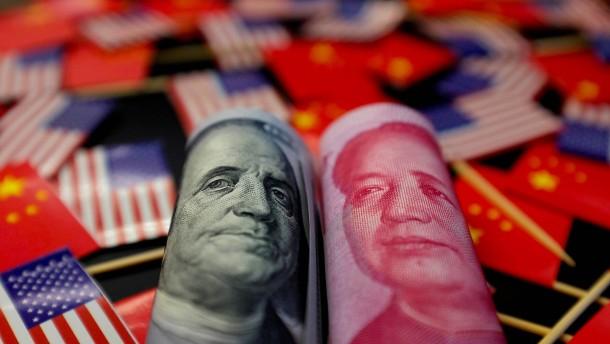 Yuan fällt auf 11-Jahres-Tief