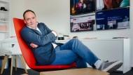 Max Conze, 48, ist seit Juni Vorstandsvorsitzender von Pro Sieben Sat 1.