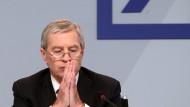Deutsche-Bank-Chef Fitschen vor Gericht