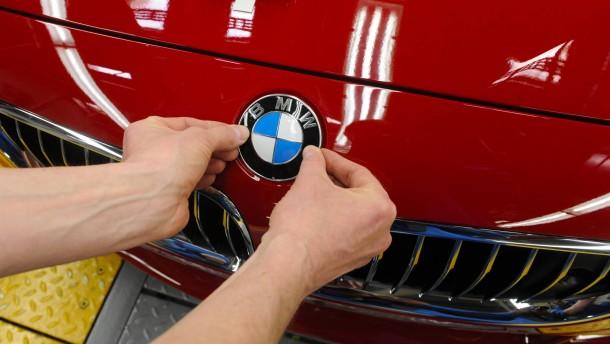 BMW schwach nach Zahlen