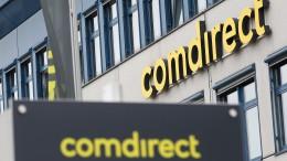 Aktienhandel für Comdirect-Kunden klemmt