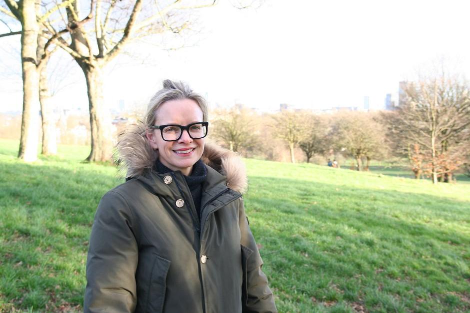 Ist der Liebe wegen nach Belsize gezogen: Katie Wilson