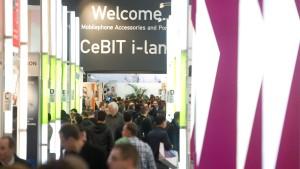 Cebit in Hannover eröffnet