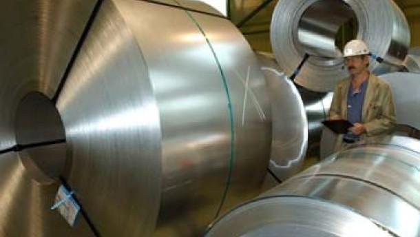 Stahl-Aktien präsentieren sich wachsweich
