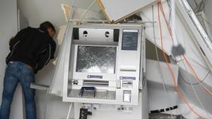 BKA erwartet Rekordzahl gesprengter Geldautomaten
