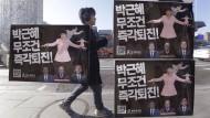 Südkoreas entmachtete Präsidentin ist umstritten.