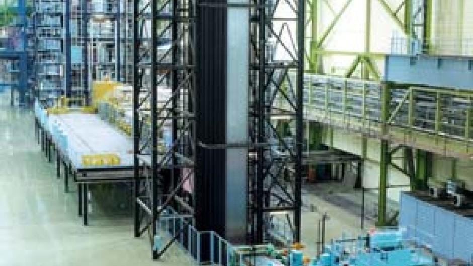ThyssenKrupp, Dortmund: Anlage für feuerverzinkte Feinbleche