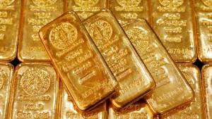Der Blitz-Absturz des Goldes