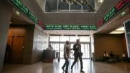Anleger hoffen auf Fortschritte in Griechenland