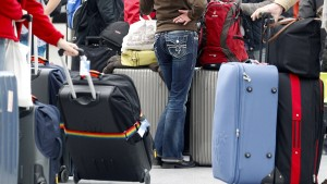 Verhandeln über Fluggastrechte