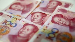 Chinas Währung schafft größtes Plus zum Dollar seit 2005