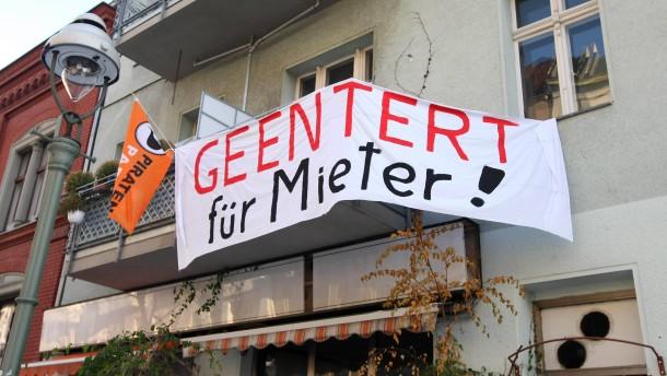 Pressekonferenz Berliner Piraten zur Verknappung bezahlbaren Mietwohnraums