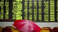 Chinas Wirtschaft stimmt Anleger pessimistisch.