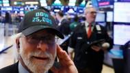 Dow Jones schafft die 25.000 Punkte Marke