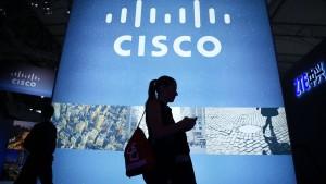Netzwerk-Riese Cisco stoppt Umsatzschwund