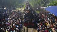 Führerloser Zug fährt 27 Kilometer rückwärts