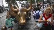 An der Wall Street ist der Bulle los.