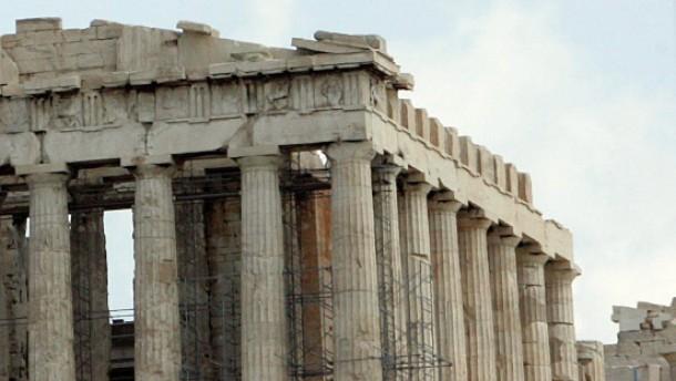 Akropolis Baustelle