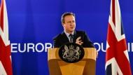 Frist für Bewerber um Cameron-Nachfolge läuft ab
