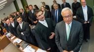 Deutsche-Bank-Chefs vor Gericht: Der Kampf gegen das Geldhaus brachte Wolf-Rüdiger Bub den Ruf als Deutschlands härtester Anwalt ein.