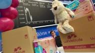 Ein verspielt anmutender Börsengang, doch zum Lächeln ist heute wohl keinem Aktionär von Windeln.de mehr zumute.