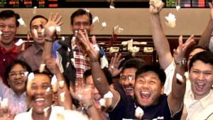 Asien-Börsen feiern ein Comeback