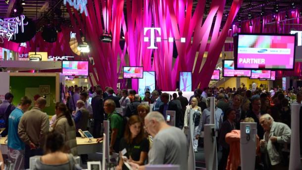Hausse erfreut Telekom-Aktionäre