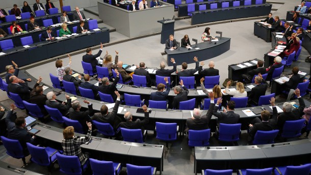 """""""Ehe für alle"""" im Bundestag"""
