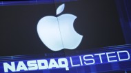 Der Kursticker an der Nasdaq gehört für die Apple-Aktie bald der Vergangenheit an