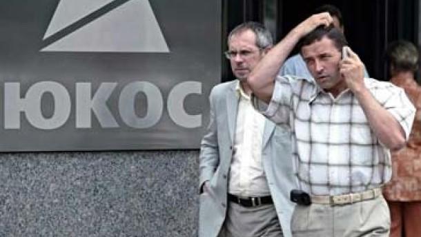 Yukos-Aktien gelten als wertlos