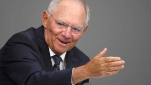 Schäuble stellt Frühjahrs-Steuerschätzung vor
