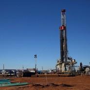 Gefährliche Entwicklung: Der sinkende Ölpreis könnte das amerikanische Wirtschaftswachstum bremsen. Hier eine Fracking-Anlage in Midland, Texas.