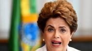 Letzter Auftritt von Brasiliens Präsidentin Rousseff?