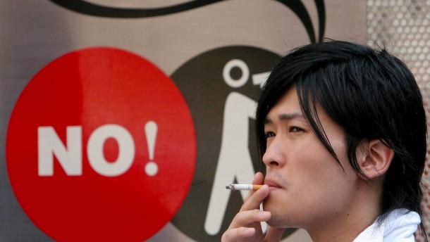 Das Raucherparadies Japan ist nicht mehr