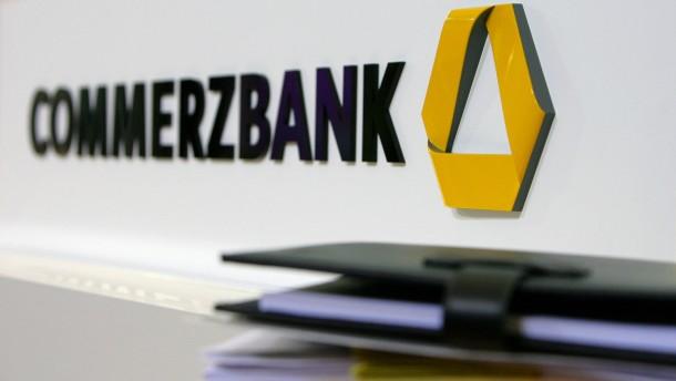 Altlasten ziehen Commerzbank-Aktie nach unten