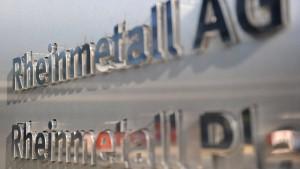 Rheinmetall bläst Börsengang der Autosparte ab