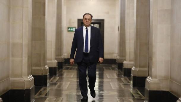 """Bank von England schließt """"Helikoptergeld"""" nicht aus"""