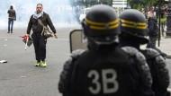 Viele Verletzte bei Proteste gegen französische Arbeitsmarktreform