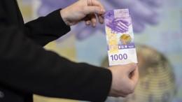Schweizer nehmen Abstand vom Bargeld