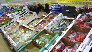 Daher wird Bio-Gemüse in Plastik verpackt