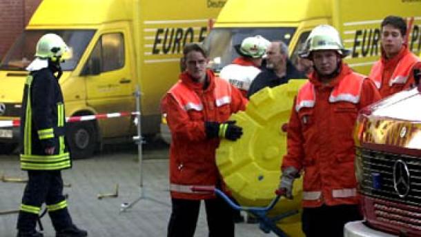 Post-Aktie durch Milzbrandalarm unter Druck