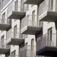 Neue Wohnhäuser mit Eigentumswohnungen: Die Deutschen sparen immer weniger für das Wohneigentum.